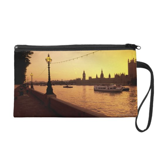Houses of Parliament at Sunset Wristlet