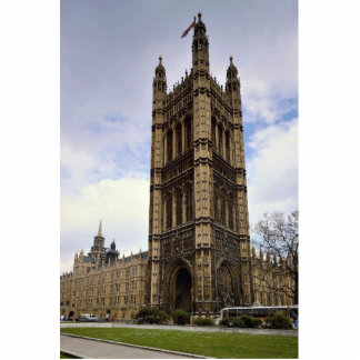 Houses of Parliament, Big Ben, London, England Standing Photo Sculpture