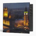 Houses of Parliament, Big Ben, Westminster 3 Ring Binder