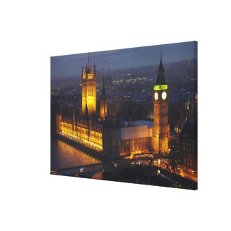 Houses of Parliament, Big Ben, Westminster Canvas Print