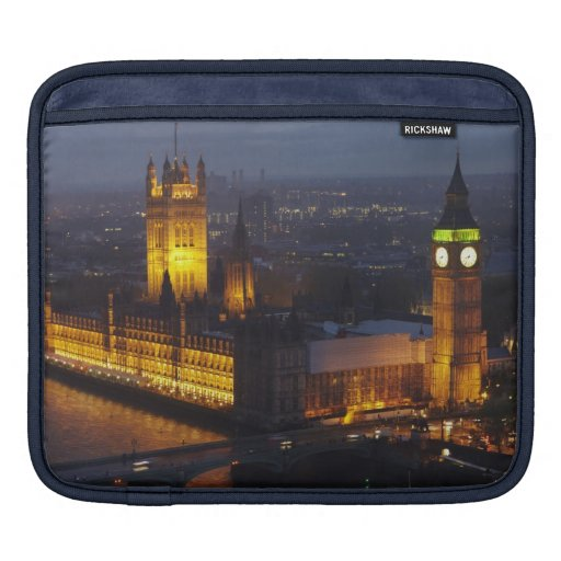 Houses of Parliament, Big Ben, Westminster Sleeves For iPads
