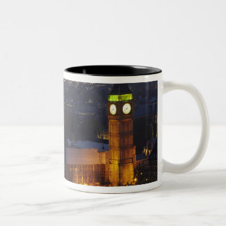 Houses of Parliament, Big Ben, Westminster Two-Tone Coffee Mug