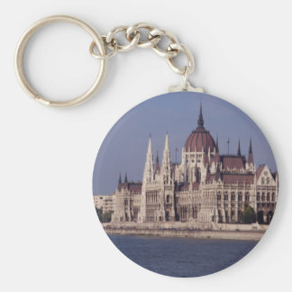 Houses of Parliament, Budapest, Hungary Keychain