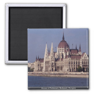 Houses of Parliament Budapest Hungary Fridge Magnet