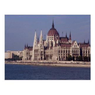 Houses of Parliament, Budapest, Hungary Postcard