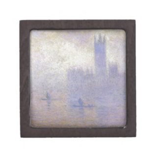 Houses of Parliament, Fog Effect by Claude Monet Gift Box