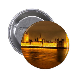 Houses of Parliament London Buttons