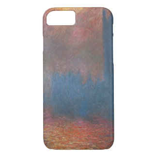 Houses of Parliament, London by Claude Monet iPhone 7 Case