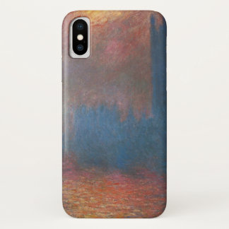Houses of Parliament, London by Claude Monet iPhone X Case