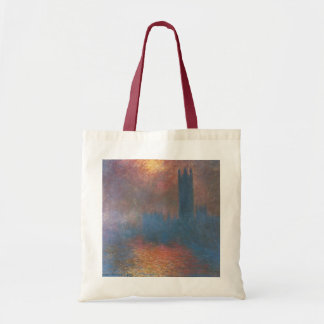 Houses of Parliament, London by Claude Monet Tote Bag