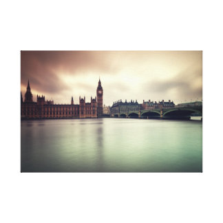 Houses of Parliament, London. Canvas Print