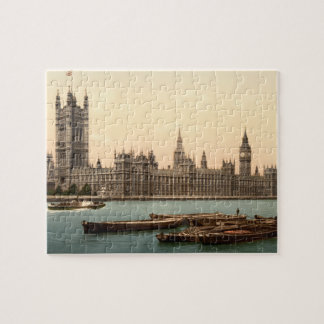 Houses of Parliament, London, England Jigsaw Puzzle