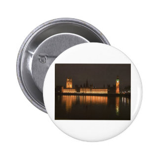 Houses of Parliament London Pinback Button