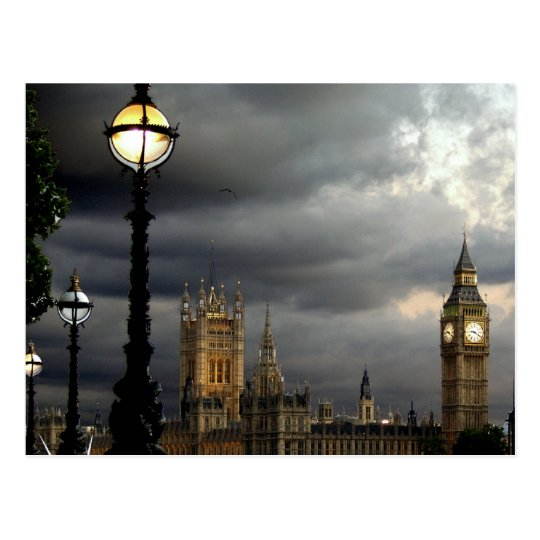 Houses of Parliament Postcard
