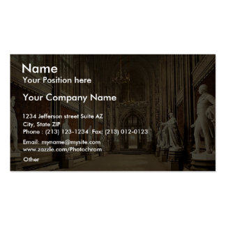 Houses of Parliament St Stephen s Hall Interior Business Cards