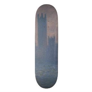 Houses of Parliament Sunlight Effect by Monet Skateboard