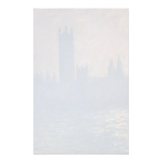 Houses of Parliament Sunlight Effect by Monet Stationery Design