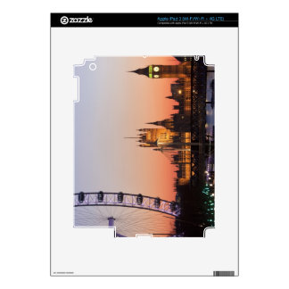 Houses of Parliament & the London Eye iPad 3 Decal