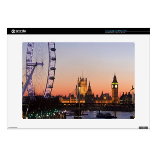 Houses of Parliament & the London Eye Skins For Laptops