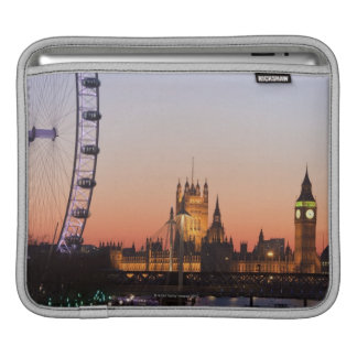 Houses of Parliament & the London Eye Sleeve For iPads