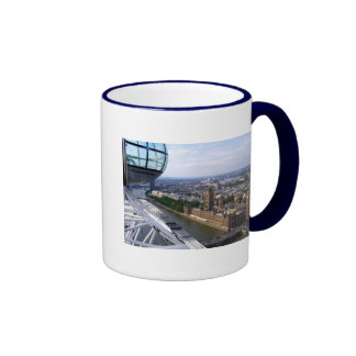 Houses of Parliament view from the London Eye Ringer Mug