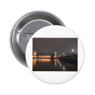 Houses of Parliament Westminster Palace London Pinback Button