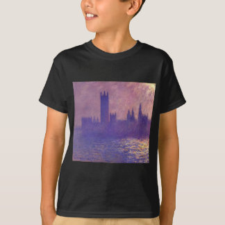 Houses of Parlilament, Sunlight Effect by Claude T-Shirt