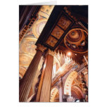 """""""Houses of the Holy"""" Church Watercolor Greeting Card"""