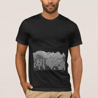 Houses on Hills (Dark) T-Shirt
