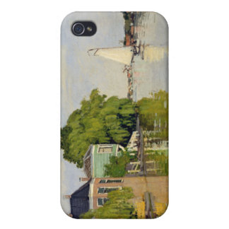 Houses on the Achterzaan - Claude Monet iPhone 4 Case