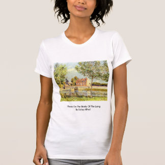Houses On The Banks Of The Loing By Sisley Alfred Tee Shirts