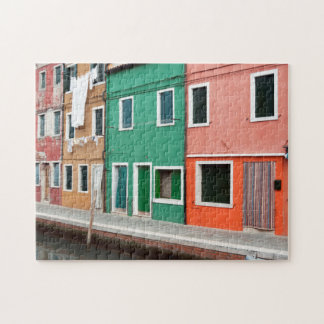 Houses on the waterfront jigsaw puzzle