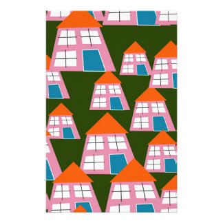 Houses Stationery