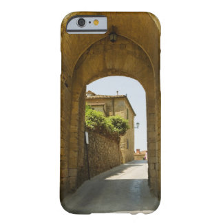 Houses viewed through an archway, Porta Franca, Barely There iPhone 6 Case