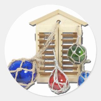 HouseShuttersFloats050512 png Etiquetas Redondas