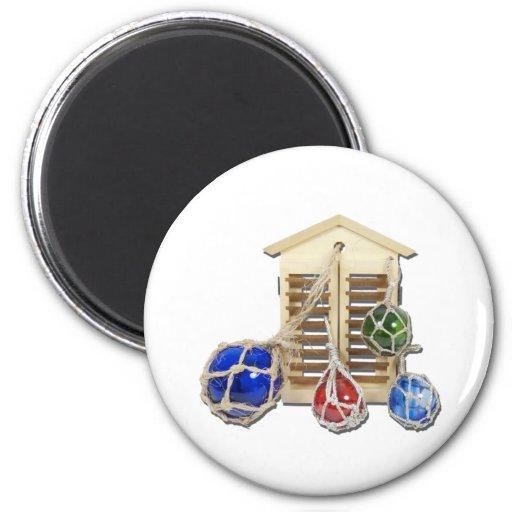 HouseShuttersFloats050512.png Refrigerator Magnet