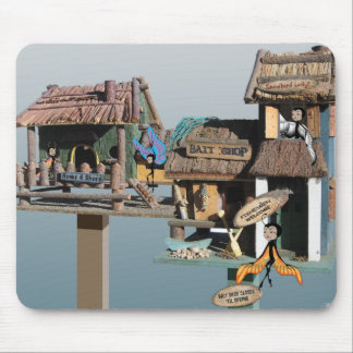 """Housesitting for Snowbirds"" Mouse Pad"