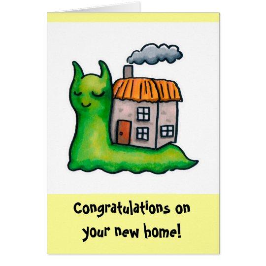 Housesnail New home Template Card
