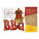 Housewarming barbecue party invitations