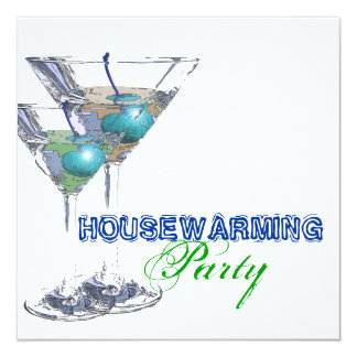 Housewarming dinner cocktail party CUSTOMIZE Invitations