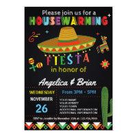 Housewarming Fiesta Party Invitation