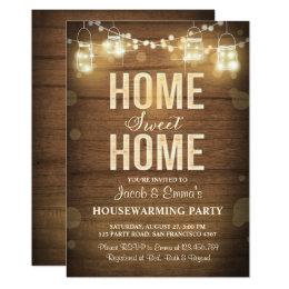 Rustic Housewarming Invitations Announcements Zazzle