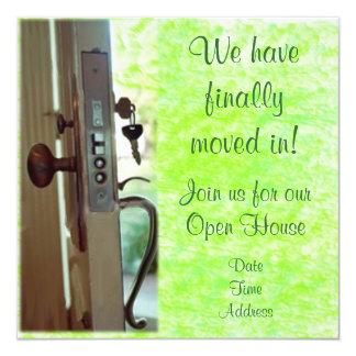 Housewarming Invitation or Announcement