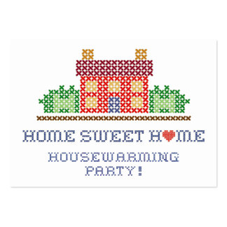 Housewarming Party Business Card