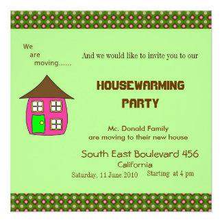 Housewarming Party Invitation