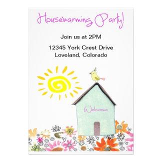 Housewarming Party Custom Announcements