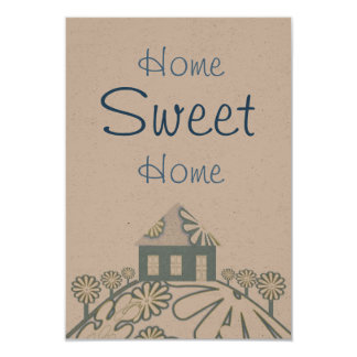 Housewarming Party 3.5x5 Paper Invitation Card