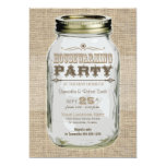 Housewarming Party Mason Jar 5x7 Paper Invitation Card