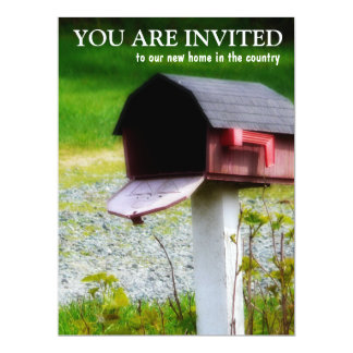 Housewarming Party - New Country Home Card