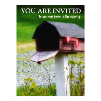 Housewarming Party - New Country Home Custom Invitation